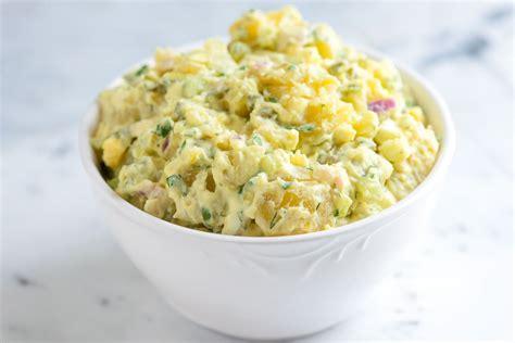 easy salad recipe easy potato salad recipe with tips