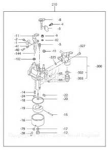 robin subaru ex13 rev 07 13 parts diagram for carburetor