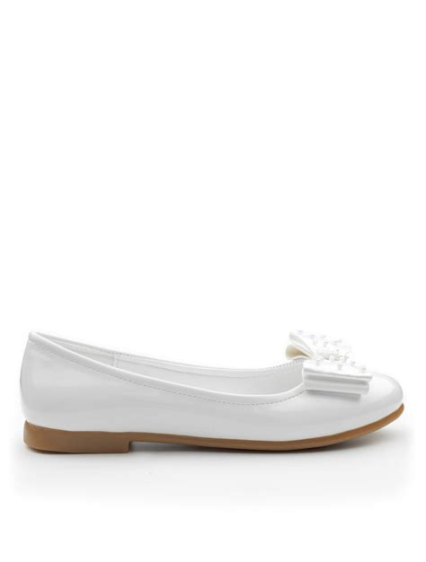 flower shoes white white dolly shoes white flower shoes roco