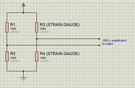 wheatstone bridge breadboard strain gage the best way to trim a wheatstone bridge digitally electrical engineering stack