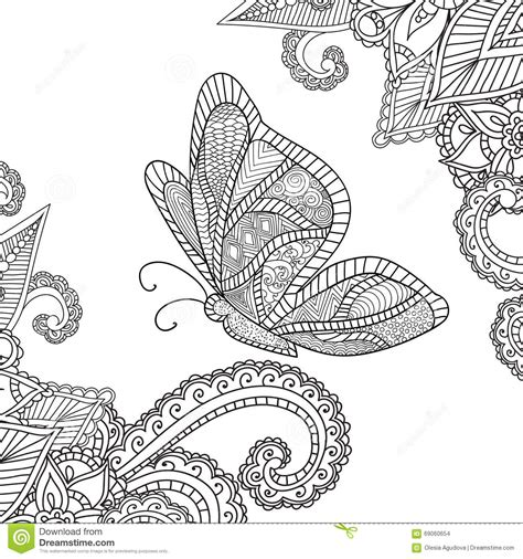 coloring books for grown ups butterflies mandala coloring book coloring pages for adults henna mehndi doodles abstract