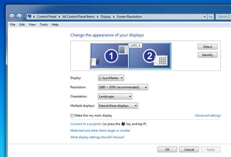 Desk Display Windows 7 How Can I Change The Order Of Extended