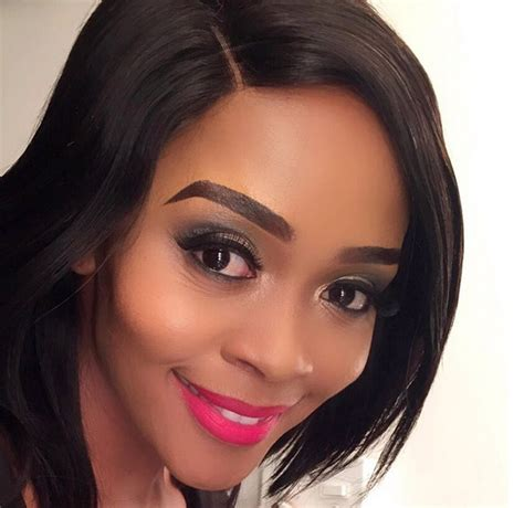 long bonding hairstyles south africa thembi seete s braids take us back to her boom shaka days