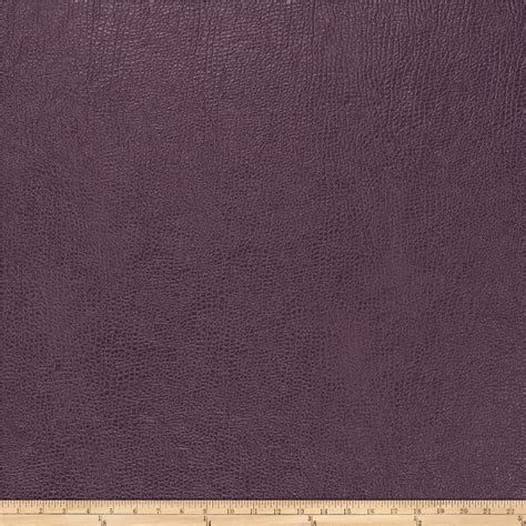 Buy Leather Upholstery Fabric by Trend 03343 Faux Leather Aubergine Discount Designer