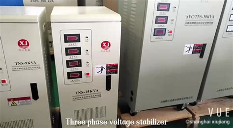 3 Phase Voltage Stabilizer 20kva by Tns 20kva 3 Phase Servo Ac Automatic Voltage Stabilizer
