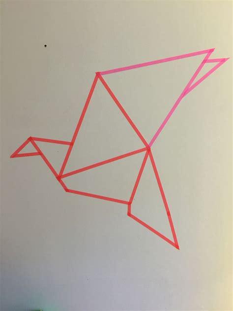 Dessin Oiseau Origami by 1000 Id 233 Es Sur Le Th 232 Me Tatouage Origami Sur