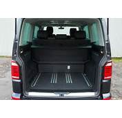 The Seating Flexibility In Back Of Volkswagen Caravelle T6