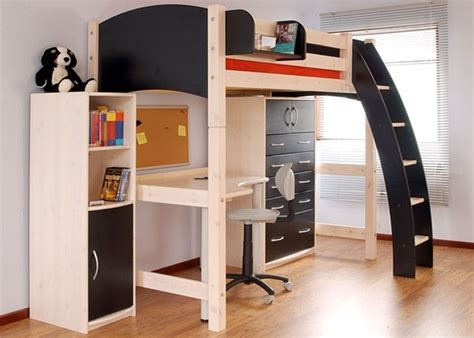 size bed with desk underneath wooden size loft bed with desk underneath size