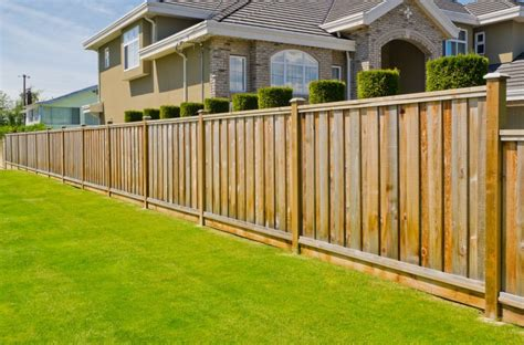 types of privacy fences for backyard fence styles and designs for backyard front yard images