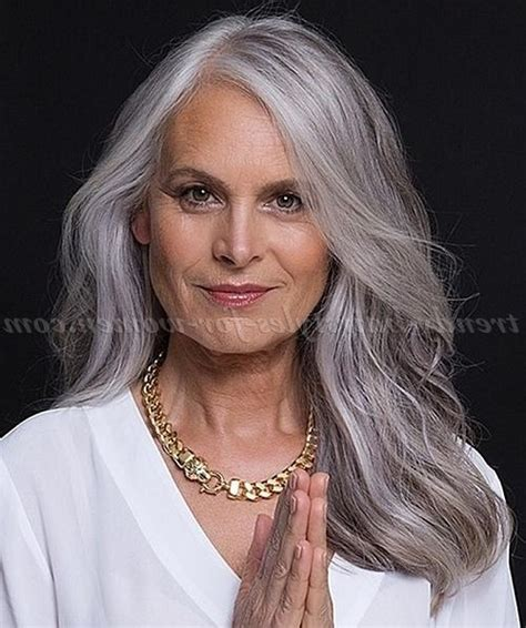 long grey hairstyles women 50 2018 popular long hairstyles for grey hair