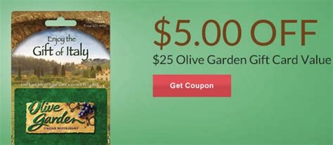 olive garden coupons for birthday rite aid 5 off 25 olive garden gift card store coupon