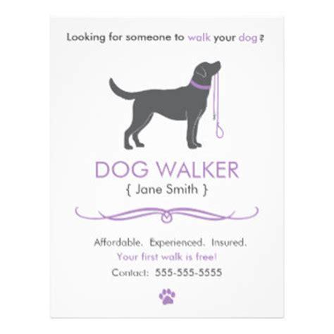 walker flyer template business flyers programs zazzle