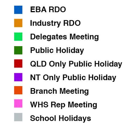 rdo calendar calendar