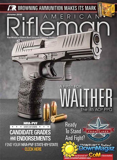 american rifleman october    magazines