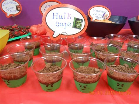 themed party recipes avengers themed birthday party food recipe by denise