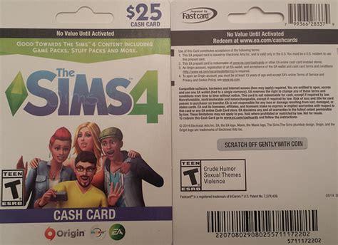 Cashcard Gift Card - the sims 4 cash card game stuff packs confirmed simsvip