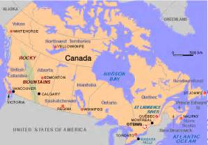 map of canada vancouver vancouver canada