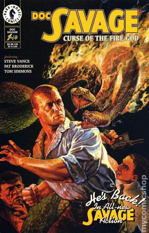 doc savage the ring of books doc savage curse of the god 1995 comic books