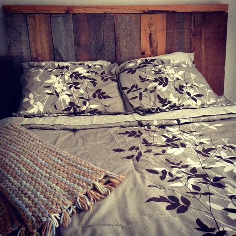 barn board headboard twobertis barn board headboard made from wood we salvaged out of our