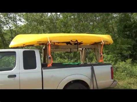 Diy Truck Canoe Rack by Useful Diy Roof Rack Canoe Jamson