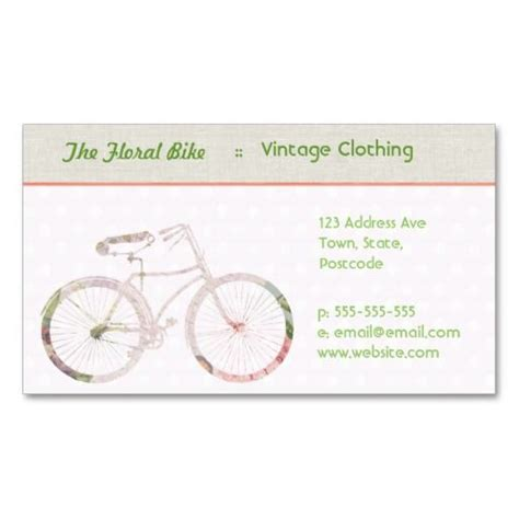 bicycle business card template 1000 images about bicycle business cards on