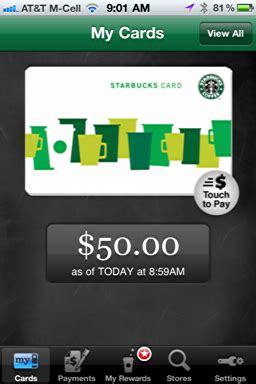 Add A Visa Gift Card To Amazon - add a new starbucks card to my iphone starbucks app ask dave taylor