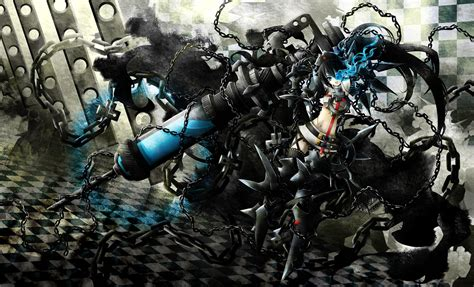 Kaos Black Rock Shooter Duo 1 black rock shooter character wallpaper 241348 zerochan anime image board
