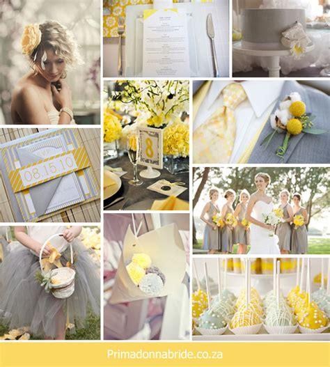 Wedding Team Colours by Un Carnet D Inspiration Jaune Et Gris Le Salon De Th 233
