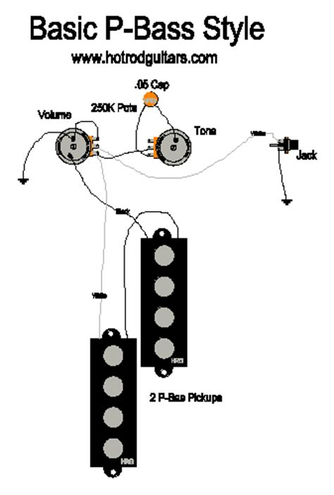 p bass wiring diagram p bass style