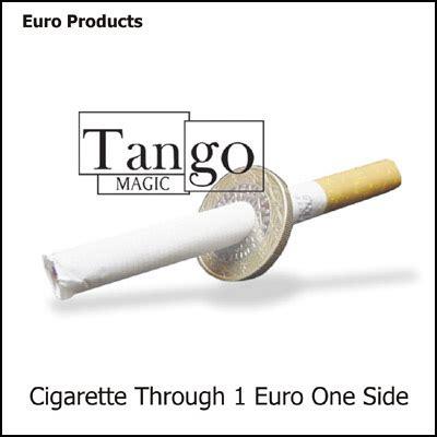 Cigarrete Through Coin cigarette thru coin 1 45 00 vanishing inc magic shop