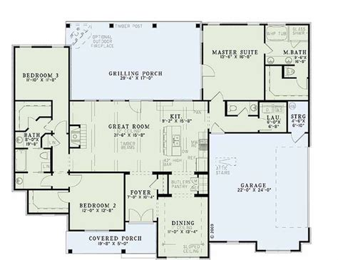 main floor plans houseplans com country farmhouse main floor plan plan