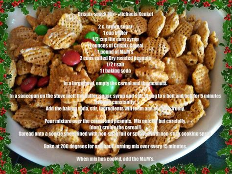 puppy chow crispix coated crispix snack mix plus a way to decorate a pringle can for your