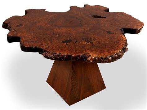 unique jarrah burl dining table furniture design