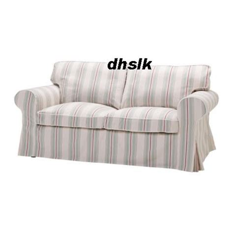 Ektorp Sleeper Sofa Slipcover Ikea Ektorp Sofa Bed Cover Sigsta Stripes Bettsofa Bezug