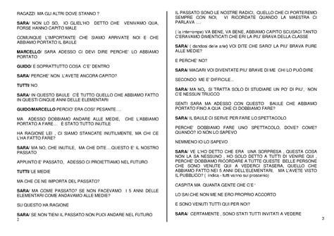 testo teatrale comico elementari bye bye testo teatrale per bambini di oreste