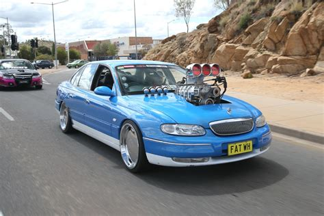 wh holden statesman blown ls powered wh caprice burnout car wh