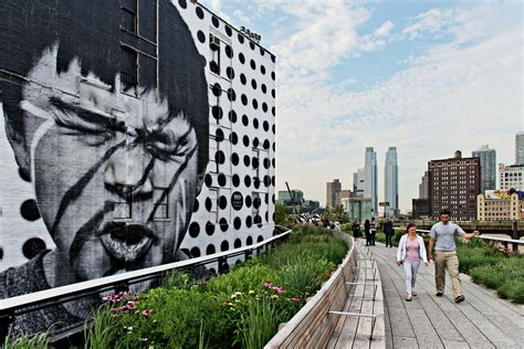chelsea section of nyc exploring new york city a walk on the highline park with