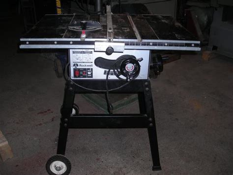 rockwell model 9 table saw rockwell 9 inch table saw outside mobile