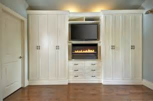 antique white wall unit contemporary bedroom toronto