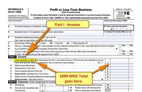scheduling ac section freelance taxes income
