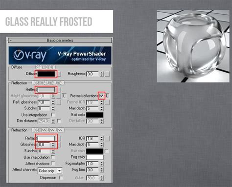 vray sketchup frosted glass tutorial vray glass really frosted 3ds max v ray material