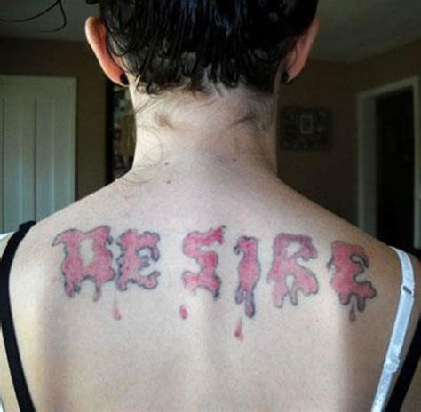 tattoo disasters pictures 62 best images about tattoos gone bad or just plain stupid