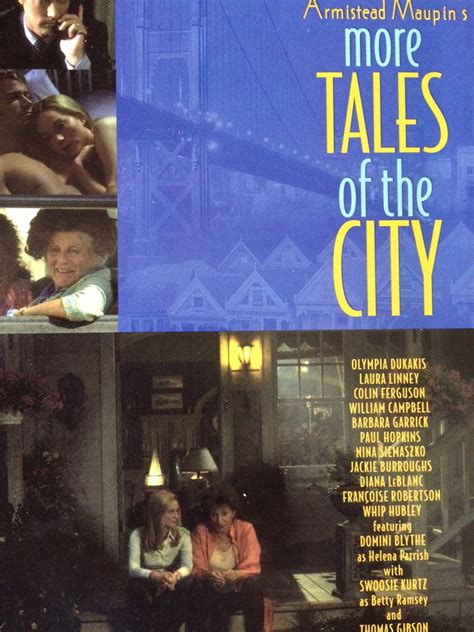 More On Monday Tales Of The City By Armistead Maupin by More Tales Of The City Tv Series 1998 1998 Posters