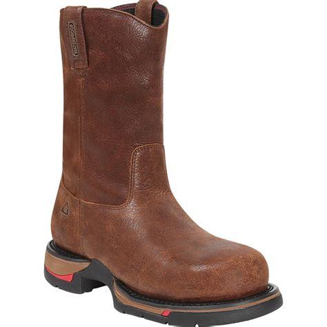 wellington work boots for 10 quot rocky range waterproof wellington work boot