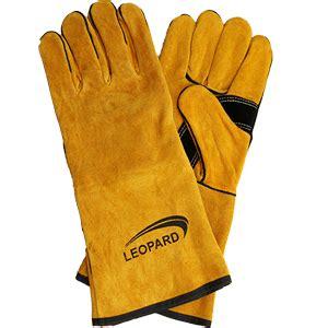 Jual Sarung Tangan Kulit Untuk Wanita jual sarung tangan las leopard 0202 harga murah jakarta oleh planet safety