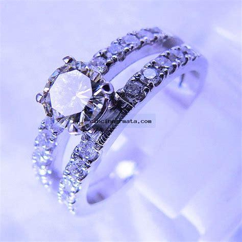 Cincin Berlian 0 38 Carat Ring Emas 40 6 25 Gram Fashion Wanita cincin berlian di002 cincinpermata jual batu permata batu mulia asli murah terlengkap