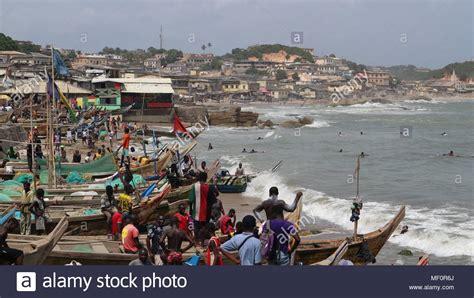 public boat r gold coast ghana beach holiday stock photos ghana beach holiday