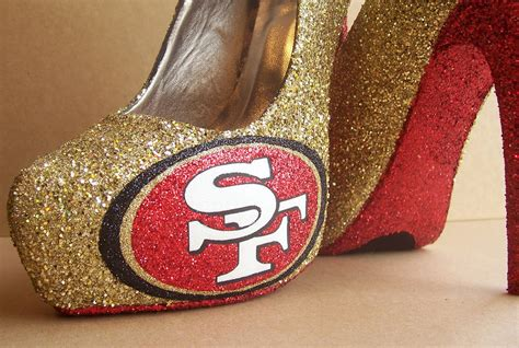 49ers shoes funky wedding shoes for sports loving brides san francisco