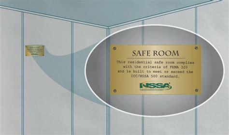 safe room dimensions high winds safe rooms