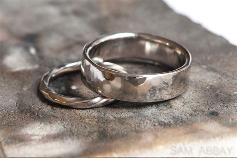 wedding rings made by sam abbay s customers
